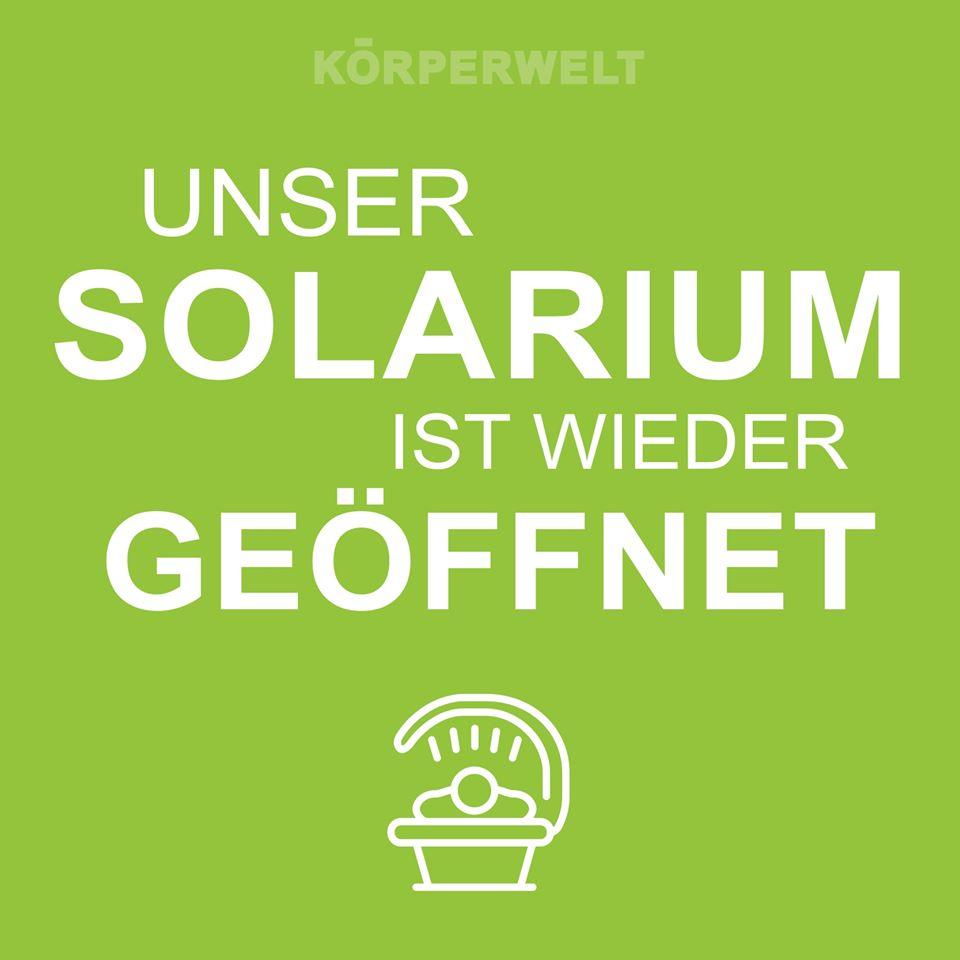 Solarium Geöffnet Corona